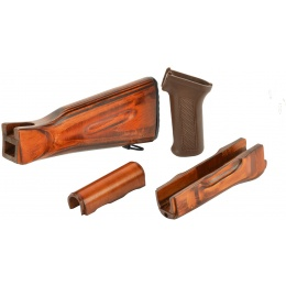 LCT Airsoft AK Series AEG AK/LCK 74 Handguard/Grip/Stock Wood Set