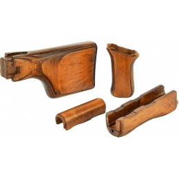 LCT Airsoft RPKS74 AEG Handguard/Grip/Stock Wood Set