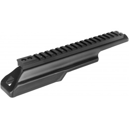 LCT Airsoft AK Series AEG Upper Rail System - BLACK
