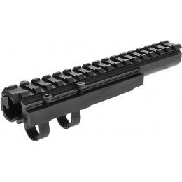 LCT Airsoft AK Series AEG 20mm Forward Optical Rail System - BLACK
