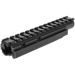 LCT Airsoft AMD-65 Series AEG 20mm Forward Optical Rail System - BLACK