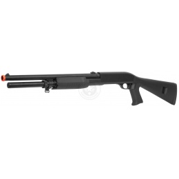 380 FPS DE M3 Multi-Shot Triple Burst Airsoft Pump-Action Shotgun