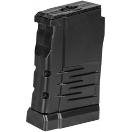 LCT VSS Vintorez Series AEG 50 Round Dual Column Magazine - BLACK
