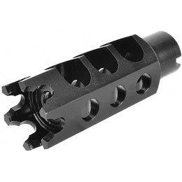 LCT Airsoft Hexagon 14mm CCW Full Metal Flash Hider for M4/M16 AEGs