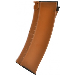 LCT AK Series AEG 130 Round Airsoft Mid-capacity Magazine - ORANGE