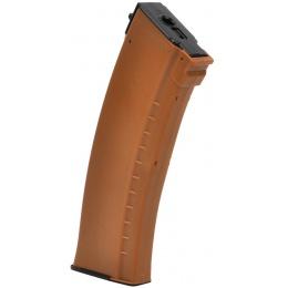LCT AK Series AEG 130 Round Airsoft Mid-capacity Magazine - ORANGE