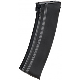 LCT AK Series AEG 130 Rd Airsoft Mid-capacity Steel Magazine - BLACK