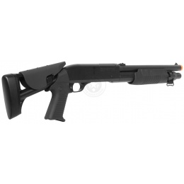 DE M3 Multi-Shot Triple Burst Airsoft CQB Shotgun - Retractable Stock