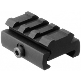 AIM Sports Picatinny Rail Riser Mount Low-Profile Adapter - BLACK
