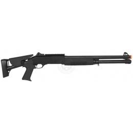 DE M3 Pump Action Multi Shot Airsoft Shotgun w/ Retractable Stock