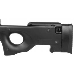 DE AWP MK96 Bolt Action Shadow Ops Airsoft Sniper Rifle - BLACK