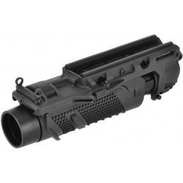 Lancer Tactical Airsoft EGLM MK16 Style Grenade Launcher - BLACK