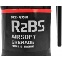 TAGINN Airsoft R2Bs Pyrotechnic Hand Grenade - Set of 6