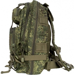 Jagun Tactical Airsoft MOLLE Outdoor Backpack - DIGITAL FLORA