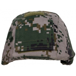 Jagun Tactical Airsoft Adjustable Helmet Cover - PLA TYPE 07