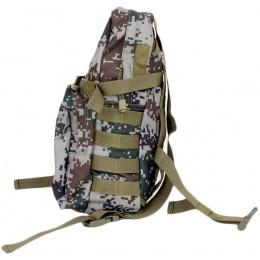 Jagun Tactical Airsoft Hydration Pack w Bladder Storage - PLA TYPE 07