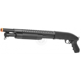 370 FPS DE M58B Airsoft Tactical Shotgun M500 HeavyHitter - Sawed Off