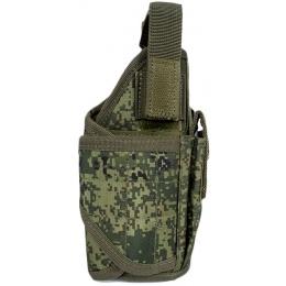 Jagun Tactical Airsoft Universal WrapLock Pistol Holster - DIGITAL FLORA