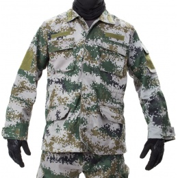 Jagun Tactical Airsoft Battle Dress Uniform BDU - PLA TYPE 07