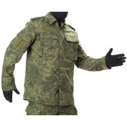 Jagun Tactical Airsoft Battle Dress Uniform BDU - DIGITAL FLORA