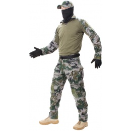 Jagun Tactical Airsoft  Gen 3 Combat Pants and Shirt BDU - PLA TYPE 07