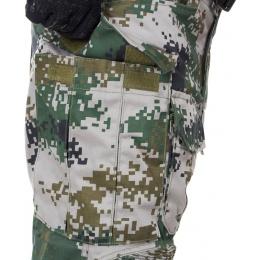 Jagun Tactical Airsoft  Gen 3 Combat Pants and Shirt BDU - PLA TYPE 07