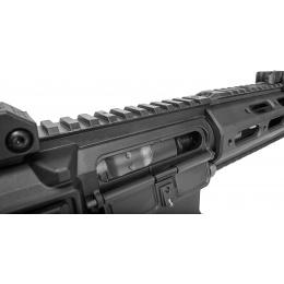 ARES Airsoft M4 Amoeba AEG Mod RIS Mock Suppressor EFCS - BLACK