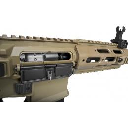 ARES Airsoft M4 Amoeba AEG Mod RIS Mock Suppressor EFCS - DARK EARTH