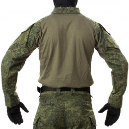 Jagun Tactical Airsoft  Gen 3 Combat Pants and Shirt BDU - DIGITAL FLORA