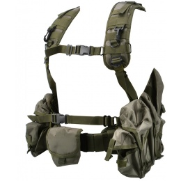 Jagun Tactical Russian Smersh Airsoft Chest Rig  - OD GREEN