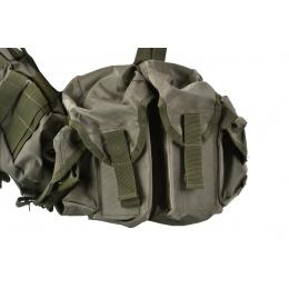 Jagun Tactical Russian Smersh Airsoft Chest Rig  - OD GREEN