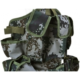 Jagun Tactical Load Bearing Vest LBV Chest Rig - PLA TYPE 07