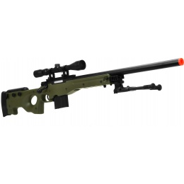 WellFire MK96 AWP Bolt Action Airsoft Sniper Rifle w/ Bipod - OD