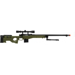 WellFire ShadowOps MK96 AWP Bolt Action Airsoft Sniper Rifle - OD