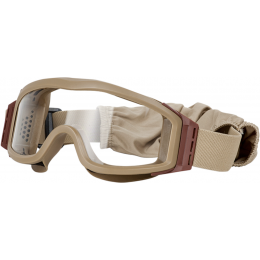 Valken Airsoft V-TAC Tango Goggles w/ 3 Color Lenses - TAN