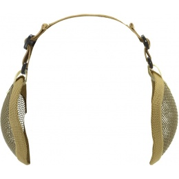 Valken Tactical 3G Wire Mesh Airsoft Ear Protector Set - TAN