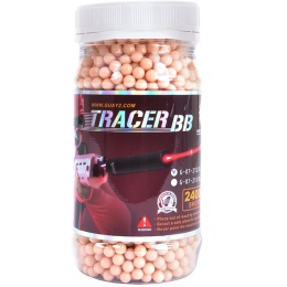 G&G Armament 0.20g Red Tracer BBs - 2,400 Count