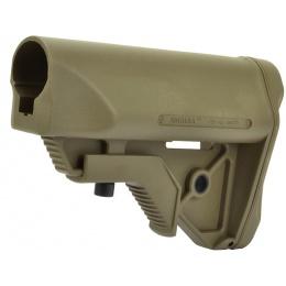 ARES Amoeba ABS001 Adjustable Crane Stock w/ QD Sling Mount - TAN
