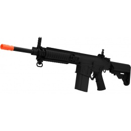 ARES Airsoft SR-25 Carbine AEG w/ Crane Stock and RIS Handguard - BLACK