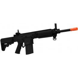 ARES Airsoft SR-25 Carbine AEG w/ Crane Stock and RIS Handguard - BLACK
