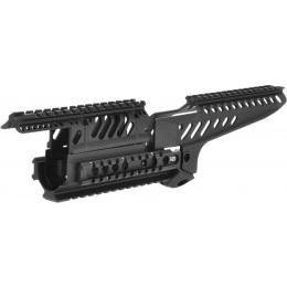 Matrix Airsoft X47 Tactical Rail System for AK Series AEG - BLACK