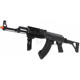 DE AK47 RIS Fully Automatic Electric AEG Rifle w/ Side Folding Stock