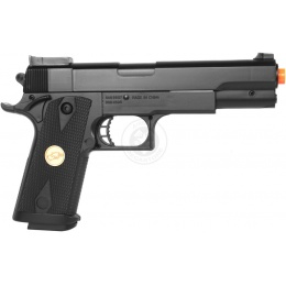 Airsoft DeltaForce Tactical M1911 ACP Hi-Capa Full Size Pistol