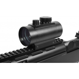 AMA 5-Intensity Full Metal 1x40 Red & Green Dot Scope
