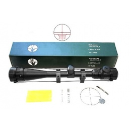 AMA 6-24x40 AOE Illuminated Airsoft Rifle Scope w/ Mount