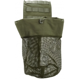 AMA Airsoft Tactical Lightweight Folding Mesh Dump Pouch - GREEN