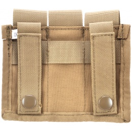AMA Airsoft Tactical Three Pistol Magazine Pouch - TAN