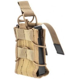 AMA 600D Single Rifle Magazine Pouch for M4/M16 Airsoft Guns - TAN