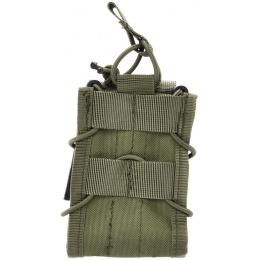 AMA 600D Single Rifle Magazine Pouch for M4/M16 Airsoft Guns - OD GREEN