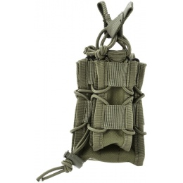 AMA 600D Rifle Magazine Pouch w/ Pistol Mag Pouch - OD GREEN